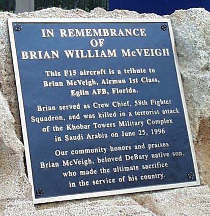 Brian McVeigh Memorial